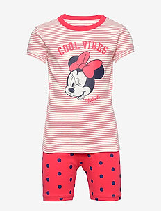GapKids | Disney Minnie Mouse PJ Set - MILK ZEBRA