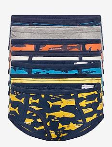 Toddler Shark Briefs (7-Pack) - unterteile - multi