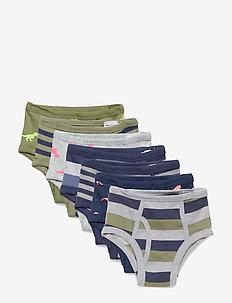 Toddler Dino Briefs (7-Pack) - underdele - multi