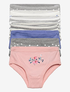 Toddler Floral Dot Bikini (7-Pack) - doły - multi