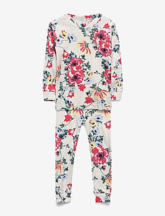 babyGap Floral PJ Set - sets - milk zebra
