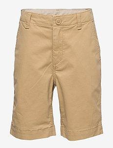 Kids Twill Shorts - NEW BRITISH KHAKI