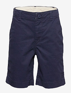 Kids Lived-in Khaki Shorts with Stretch - shorts - tapestry navy