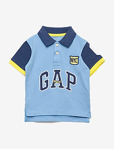 Toddler Gap Logo Polo Shirt - polos - oasis blue