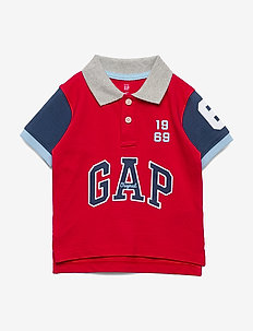 Toddler Gap Logo Polo Shirt - PURE RED V2