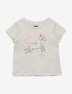 Toddler Graphic Short Sleeve T-Shirt - UNICORNS 647