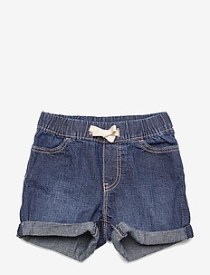 Toddler Pull-On Denim Shorts - DARK INDIGO V2