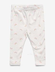 Toddler Everyday Leggings - leggings - rainbow daisy