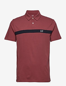 JRSY LOGO POLO - INDIAN RED
