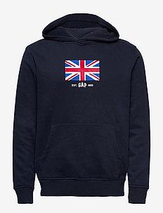 UK FLAG PO HD - pulls à capuche - new classic navy 2