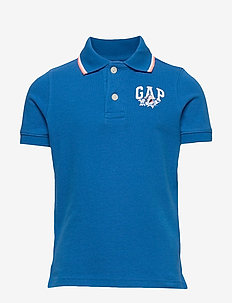 Kids Gap Logo Polo Shirt - polos - blue burst