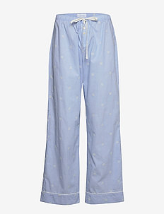 Relaxed Pajama Pants in Poplin - chambray bees
