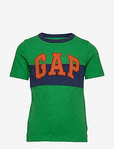 Kids Gap Logo T-Shirt - LUSH GREEN