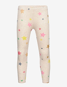 Kids Print Everyday Leggings - GLITTER STARS