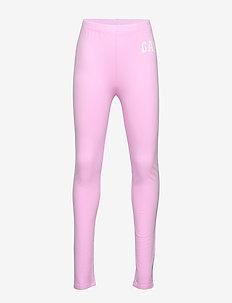 CHN LOGO JSY LEG - leggings - lavender pink