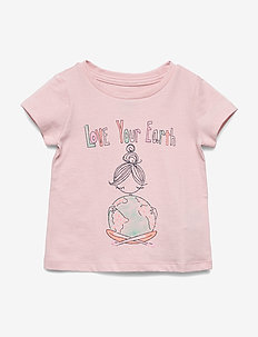 Toddler Bea Short Sleeve T-Shirt - EARTH DAY GR