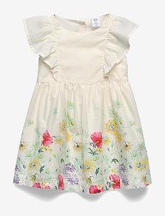 Toddler Floral Ruffle Dress - jurken - placd botanical floral
