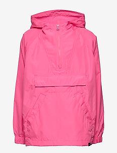 PCKABLE ANORAK - windbreaker - pink pop neon