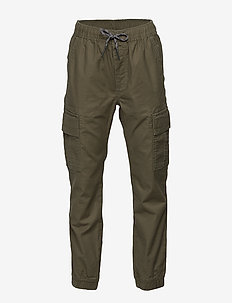 Kids Cargo Slim Joggers - bukser - army jacket green