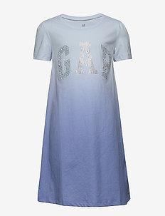 FR ARCH DRS - dresses - blue dip dye