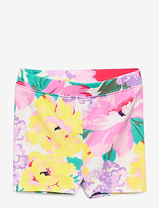 Toddler Cartwheel Shorts in Stretch Jersey - szorty - floral tiger multi
