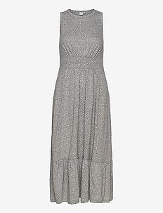 Midi Swing Dress - robes longeur du midi - light grey marle