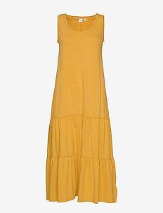 Tank Maxi Dress - maxi sukienki - gelded gold