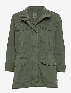 Utility Jacket - OLIVE 72