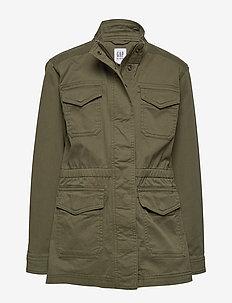 Kids Utility Jacket - bomber jackets - iguana green