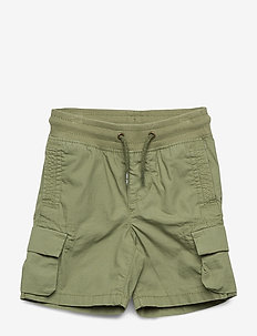 Toddler Pull-On Cargo Shorts - shorts - new thyme