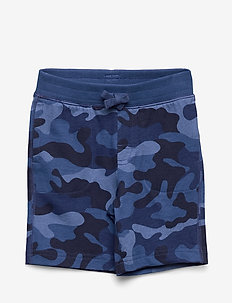 Toddler Print Pull-On Shorts - szorty - blue camo