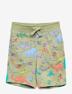 Toddler Print Pull-On Shorts - szorty - desert sage