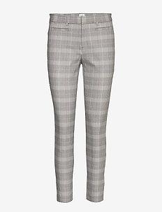Skinny Ankle Pants - stuprörsbyxor - grey plaid