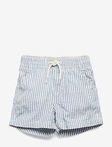 Baby Print Pull-On Shorts - shorts - bright hyacinth