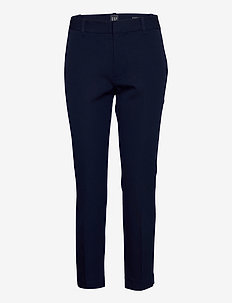 Slim Ankle Pants - straight leg trousers - tapestry navy