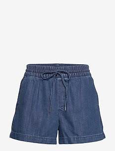 Indigo Twill Shorts - denimshorts - medium indigo