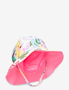 Baby Reversible Swim Hat - uv-caps - optic white
