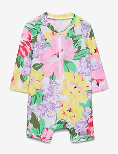 Baby Rash Guard Shorty One-Piece - combinaisons uv - optic white
