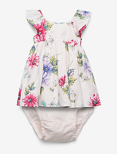 Baby Floral Ruffle Dress - dresses - light pink