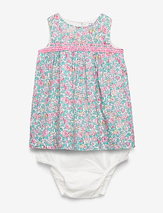 Baby Floral Dress - dresses - ivory frost