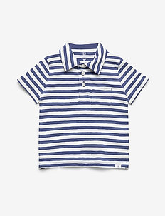 Toddler Polo Shirt - polos - docksider blue