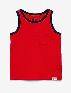 Toddler Tank - zonder mouwen - pure red v2