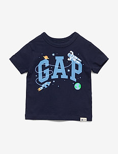 Toddler Gap Logo Graphic T-Shirt - BLUE GALAXY