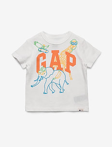 Toddler Gap Logo Graphic T-Shirt - NEW OFF WHITE