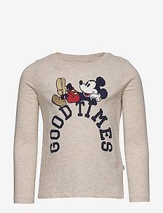 GapKids | Disney Mickey Mouse T-Shirt - langærmede t-shirts - b2621