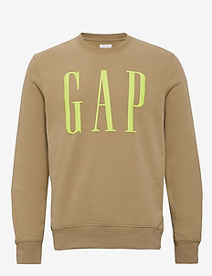 Gap Logo Carbonized Crewneck Sweatshirt - CHINO ACADEMY