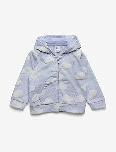 Baby Brannan Bear Hoodie Sweatshirt - hoodies - light blue heather b81