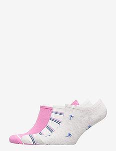 Ankle Socks (3-Pack) - ankle socks - pure pink
