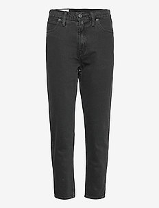 Sky High Rise Mom Jeans - mom jeans - black rinse