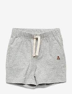 Baby Brannan Bear Pull-On Shorts - shorts - light heather grey b08